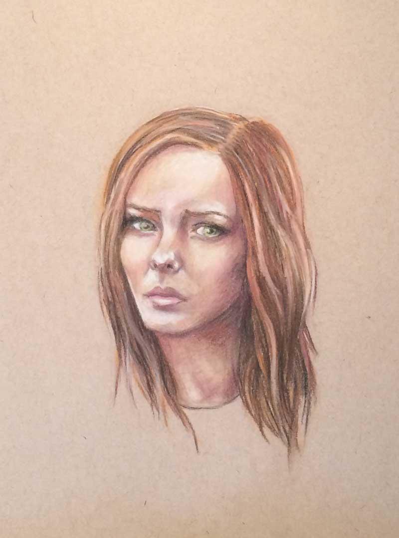 Vancouver artist portrait illustration