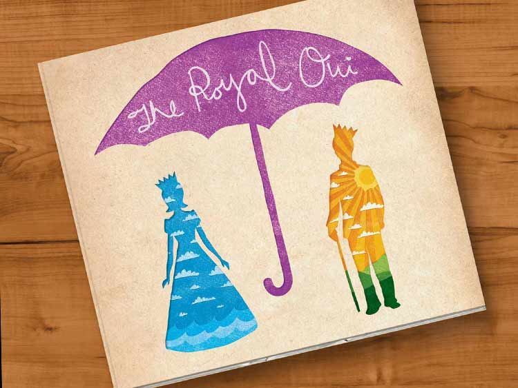 The Royal Oui Album Artwork Graphic Design