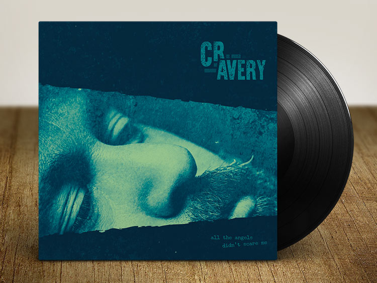 CR Avery Logo Design and Album Artwork Design Band Branding