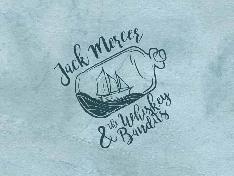 Jack Mercer Hand-Drawn Logo Design