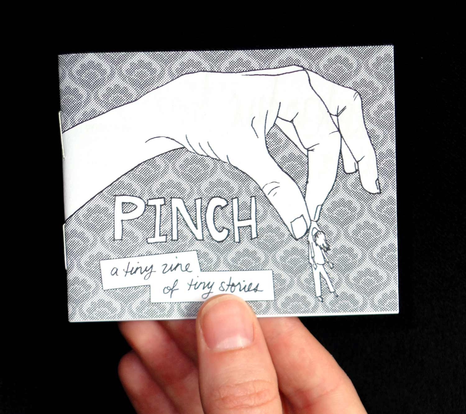 Graphic design, illustration, and layout for Pinch