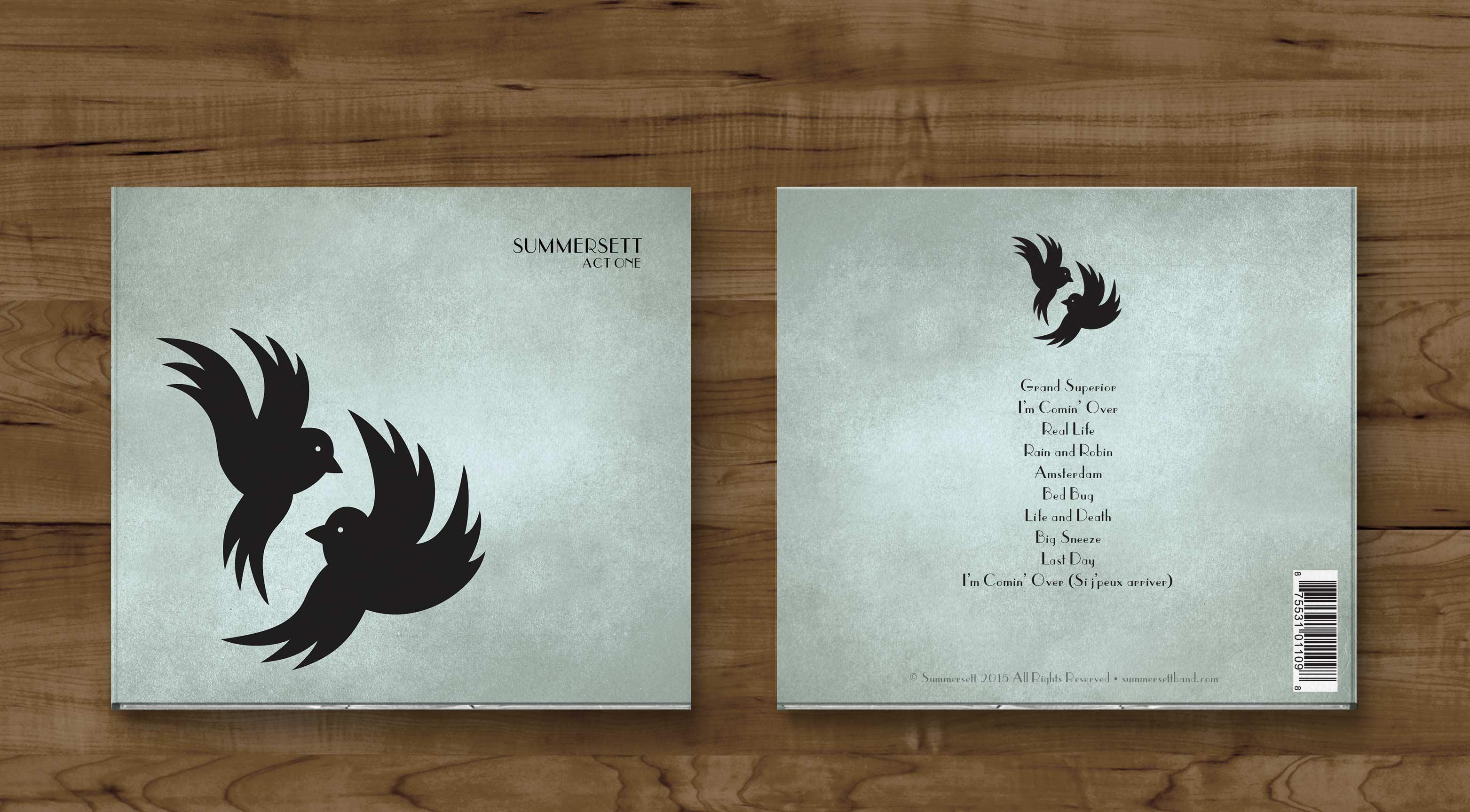 Album cover for Summersett