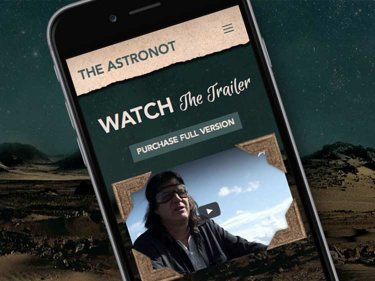 The Astronot Responsive Wordpress Website Design and Development