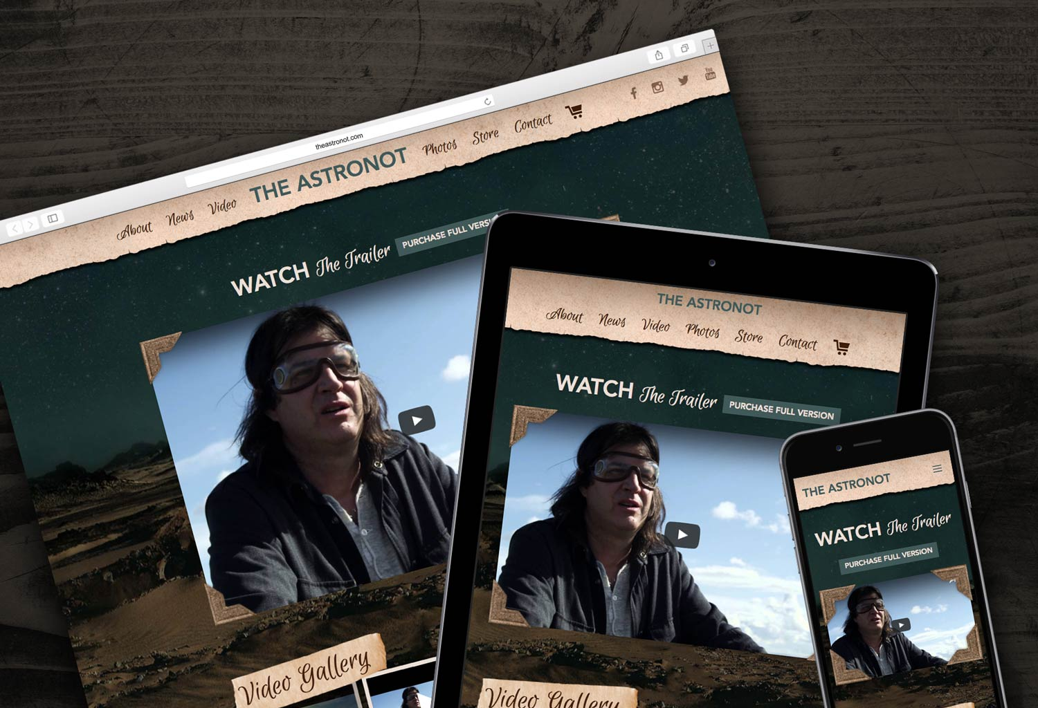 Vancouver film responsive website design