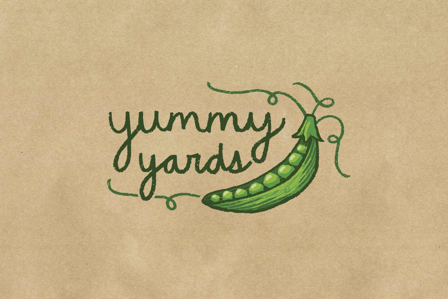 Vancouver Yummy Yards logo design