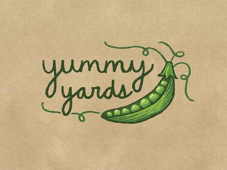 Yummy Yards Logo Design